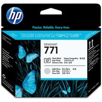 HP 771 Photo Black & Light Grey OriginalDesignJet Printhead For use with - Z6200 1067mm/1524mm, Z6800 1524mm- CE020A