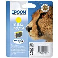 Image of Epson T0714 Yellow Ink Cartridge