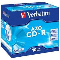 Verbatim 52x CD-R Super Azo 700MB 10 Pack Jewel Case
