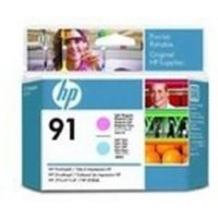HP 91 Light Cyan & Light Magenta	Original DesignJet Printhead For use with - HP DesignJet Z6100's - C9462A