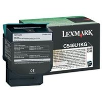 Lexmark RETURN PROGRAM TONER CARTRIDGE - BLACK 8K PGS F/ C546/ X546