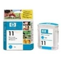 Image of HP 11 Cyan Original Ink Cartridge - Standard Yield 2000 Pages - C4836AE