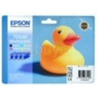 Image of Epson T0556 Multi Ink Cartridge Pack (Black, Yellow, Cyan and Magenta)