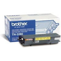 Brother TN-3280 High Yield Black Toner Cartridge - 8,000 Pages