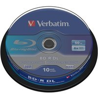 Verbatim 6x BD-R Dual Layer 50GB 10 Pack Spindle