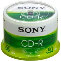 Sony 48x CD-R 700MB 50 Pack Spindle