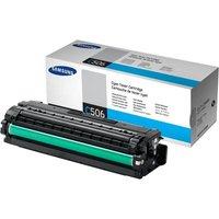 Samsung CLT-C506S Cyan Original Toner Cartridge - Standard Yield 1500 Pages - SU047A
