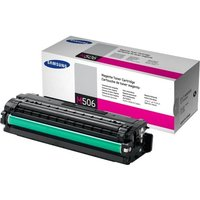 Samsung CLT-M506S Magenta Original Toner Cartridge - Standard Yield 1500 Pages - SU314A