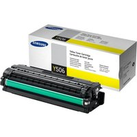 Samsung CLT-Y506S Yellow Original Toner Cartridge - Standard Yield 1500 Pages - SU524A