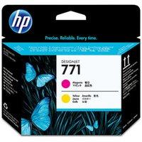 HP 771 Magenta & Yellow Print Head - CE018A