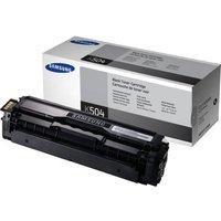 Samsung CLT-K504S Black Toner Cartridge - 2,500 Pages