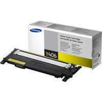 Samsung CLT-Y406S Yellow OriginalToner Cartridge - Standard Yield 1000 Pages - SU462A