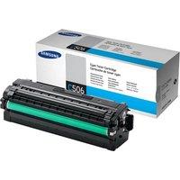 SamsungCLT-C506L Cyan OriginalToner Cartridge - High Yield3500 Pages - SU040A