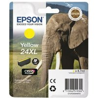 Image of Epson 24XL Yellow Ink Cartridge- Blister pack