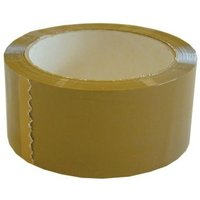 Ambassador Polyprop Tape 48x132mm Buff - 6 Pack