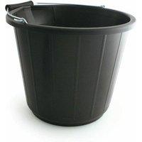 Heavy Duty Bucket 14 Litre Black