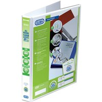 Elba Panorama Pres Binder A4 2d 25mm Wht - 6 Pack