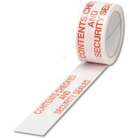 Image of Ambass Tape Contents Checked White/red - 6 Pack