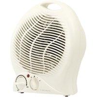 Crown 2kw Upright Fan Heater White