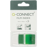 Q CONNECT PAGE MARKER 1IN 50 SHTS GREEN