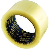 Sellotape Packaging Tape 50mmx66m Clear - 6 Pack