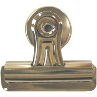 Q-Connect Heavy Duty Magnetic Bulldog Clip Pk 2 Silver