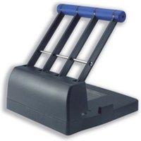 Rapesco 4400 Heavy Duty 4-Hole Punch (150 Sheets) (black / purple)