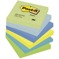Image of 3M POSTIT DREAMY COLOURS PK6 76X76MM