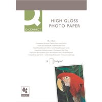 Q-Connect Photo Paper High Gloss Paper 10X15CM 260G P25