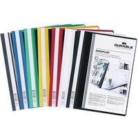 Durable DURAPLUS Quotation Folder A4 Assorted 25 Pack