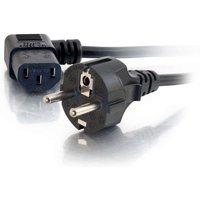 C2G Universal 90° Power Cord (CEE 7/7), 5m