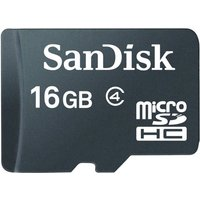 SanDisk 16GB Class 4 MicroSD Memory Card  Only