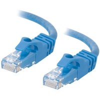 C2G, Cat6 550MHz Snagless Patch Cable Blue, 0.5m