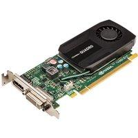 Image of PNY NVIDIA Quadro K600 1GB GDDR3 Dual-DVI DisplayPort PCI-E Graphics Card