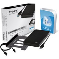Image of Pny Ssd Upgrade Kit Consisting Of 2.5'' Usb 3.0 External Enclosure , 2.5 '' To 3.5'' Bay,screws,screwdriver,sata Iii Data Cable