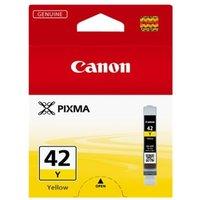Image of Canon Pixma Cli-42y Inkjet Cartridge Ylw