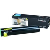 Image of Lexmark C930 Yellow High Yield Toner Cartridge