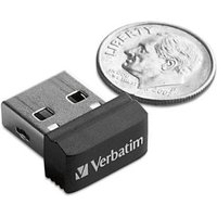 Image of Verbatim Store 'n' Stay 8GB Nano USB Flash Drive (black)