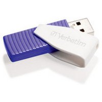 Image of Verbatim Store 'n' Go Swivel (64GB) USB Flash Drive (violet)