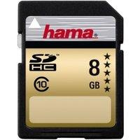 Hama High-Speed Gold SDHC 8GB Class 10 22MB/s