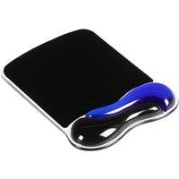 Kensington Duo Gel Mouse Mat Wave - Blue & Black