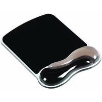Kensington Duo Gel Crystal Mousepad Wave - Black&Smoke