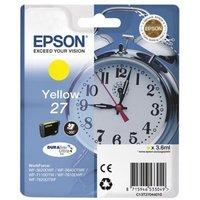 Image of Epson 27 Durabrite Ultra Inkjet Cartridge - Yellow