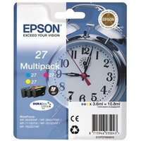Image of Epson Multipack 3-colour 27 DURABrite UltraInk Cartridge