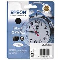 Image of Epson 27XXL DURABrite UltraInk Black Ink Cartridge