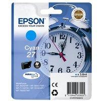 *Epson Singlepack Cyan 27 DURABrite Ultra Ink Cartridge
