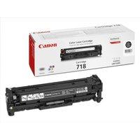 *Canon Black (718BK) Laser Toner Cartridge