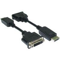 NewLink DSPYP DisplayPort (M) To DVI Cable (F)  15CM