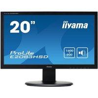 "Iiyama ProLite E2083HSD-B1 20"" LED DVI Monitor"