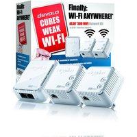'Devolo Dlan 500 - Wifi Triple Powerline Network Kit